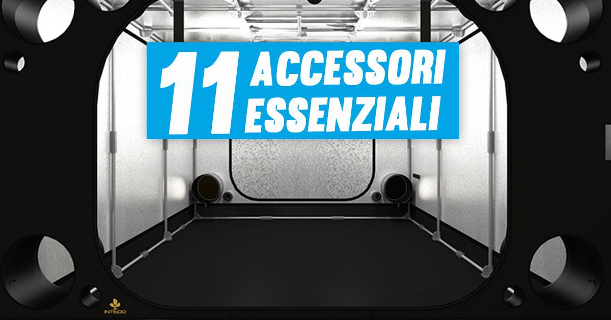 Accessori Grower Indoor: 11 strumenti indispensabili