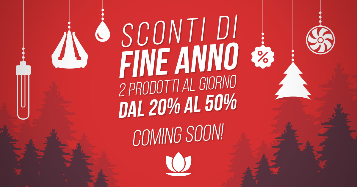 Super Offerte di Fine Anno Coming Soon!