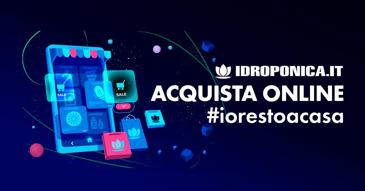 Idroponica.it è Operativo! #iorestoacasa