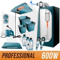 Kit Cocco 600w + Grow Box - PRO