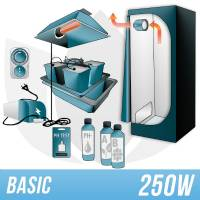 Kit Indoor Idroponica 250w + Grow Box - BASIC