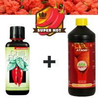 Kit Fertilizzante Peperoncino  (Frutti + Piccanti e Saporiti)