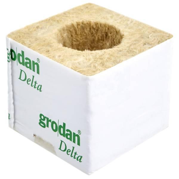 per agricoltura e coltivazione idroponica 40 pezzi Cabilock Spine di lana di roccia