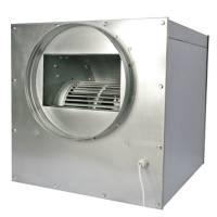 Aspiratore Cassonato in Acciaio SUPERSILENZIATO 55x55cm 2x250/315mm - 3250 m3/h