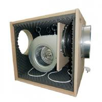 Aspiratore SOFTBOX MDF Super Insonorizzato - 2x250/315mm - 6000 m3/h